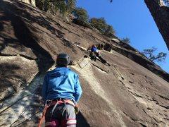 Rock Climbing Photo: Comatose-Rumbling Bald