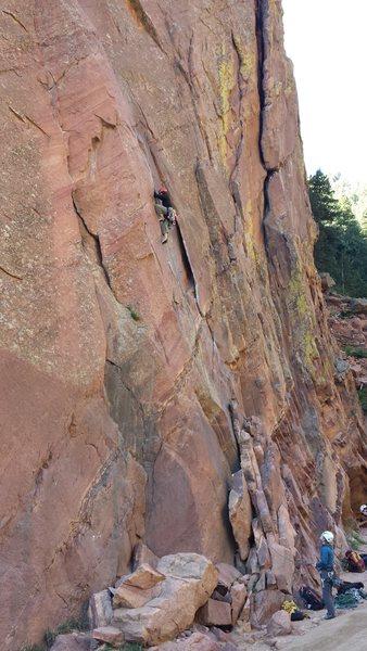 Bastille Crack-Eldorado Canyon