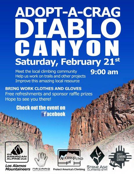 Rock Climbing Photo: Diablo Canyon Work Party - 2015