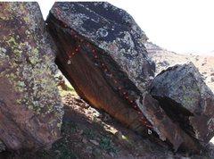 Rock Climbing Photo: a) Ripple Effect b) First-rate Junkie