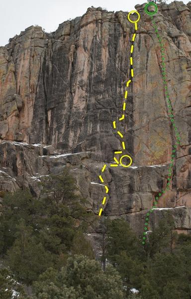Rock Climbing Photo: Lay it down.