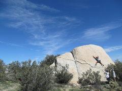 Rock Climbing Photo: The Broken Scissors!