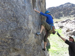 """Rock Climbing Photo: On """"Cupid's Fever."""""""