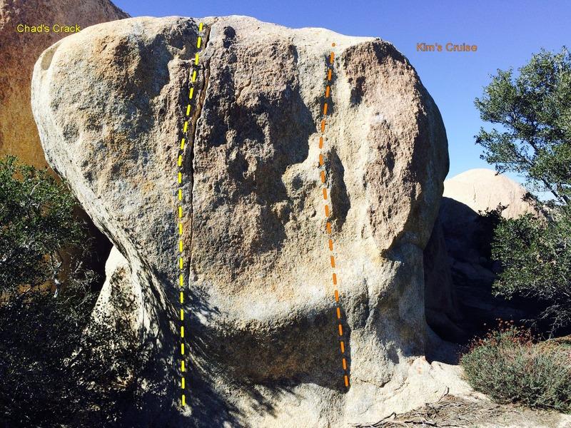 """The """"broken heart"""" boulder"""