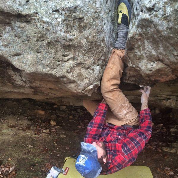 Rock Climbing Photo: sweet inversion