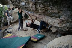 Rock Climbing Photo: These are photos for the whole sequence. I'm not p...