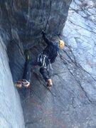 Rock Climbing Photo: VDZ mixed nasty!