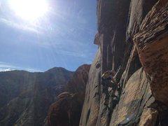 Rock Climbing Photo: black Orpheus