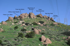 Rock Climbing Photo: Mystery Science Theater site overview