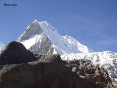 Rock Climbing Photo: Day 2: towards the Yerupaja-Rasac glacier