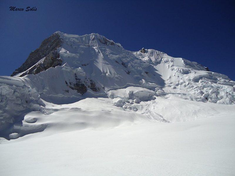 reaching the glacier