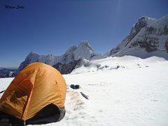 Rock Climbing Photo: camping