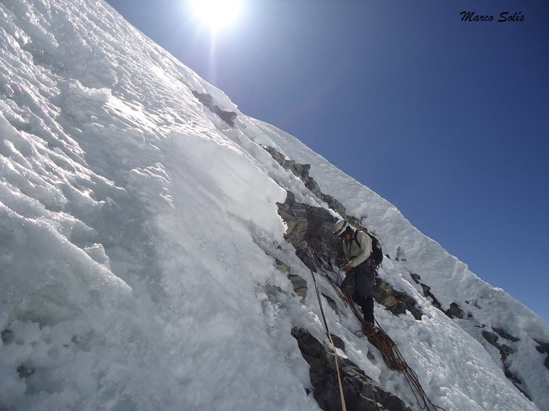 Rock Climbing Photo: We were late in the summit, there was no time to t...