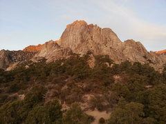Rock Climbing Photo: The main buttress