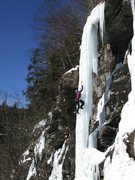 Rock Climbing Photo: Polar Vortex Pillar