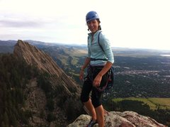 Rock Climbing Photo: Third Flatiron