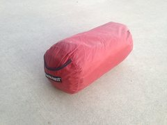 Rock Climbing Photo: Thermarest in bag (red pad)
