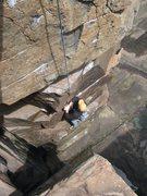 Rock Climbing Photo: Climbing the Gallery Walk