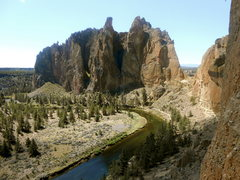 Rock Climbing Photo: chillin on zebra zion