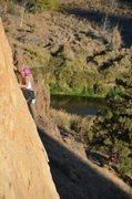 Rock Climbing Photo: spring dusk on phone call from satan