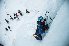 Rock Climbing Photo: Michael Zasadzien joined us form Oregon for a good...