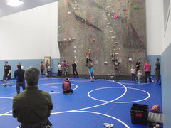 Rock Climbing Photo: The Grand Opening of the tallest wall in Alaska.