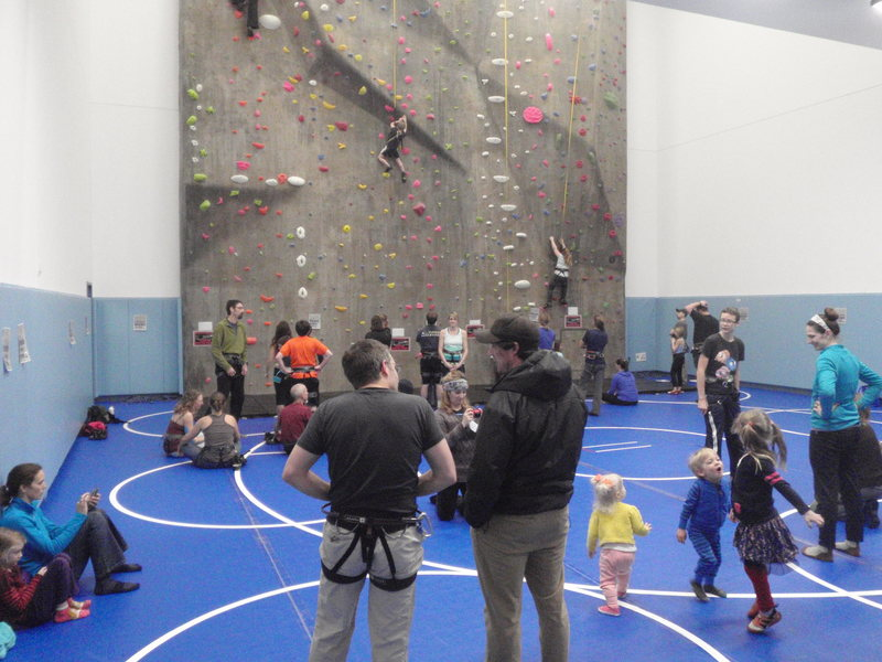50+ climbers with another 20+ spectators shows that all the effort will make a difference in the little town.