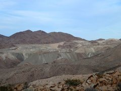 Rock Climbing Photo: Eagle Mountain from the top of Black Eagle Mine Ro...