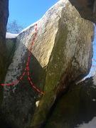 Rock Climbing Photo: Lucifer Squeeze