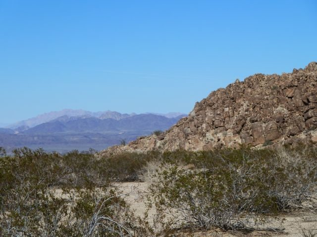 Scenery along Black Eagle Mine Road, Joshua Tree NP