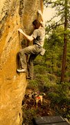 Rock Climbing Photo: brass monkey