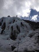 Rock Climbing Photo: Getting it done!