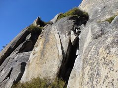 Rock Climbing Photo: Another view of the left trending crack