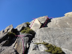 Rock Climbing Photo: No Doubt Stout in relation to the general area and...