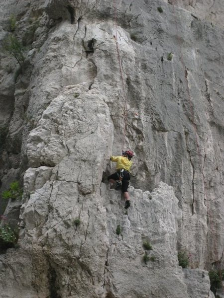 Rock Climbing Photo: La Diagonale - fun!
