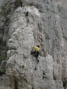 Rock Climbing Photo: La Diagonale - fun!