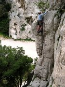Rock Climbing Photo: Face à la mer