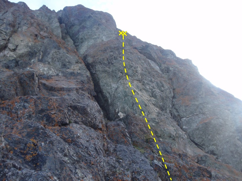 This route has as much scrambling as it dose technical climbing.