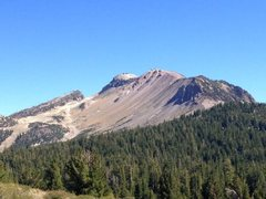Rock Climbing Photo: Mammoth Mountain from Minaret Vista, Mammoth Lakes...