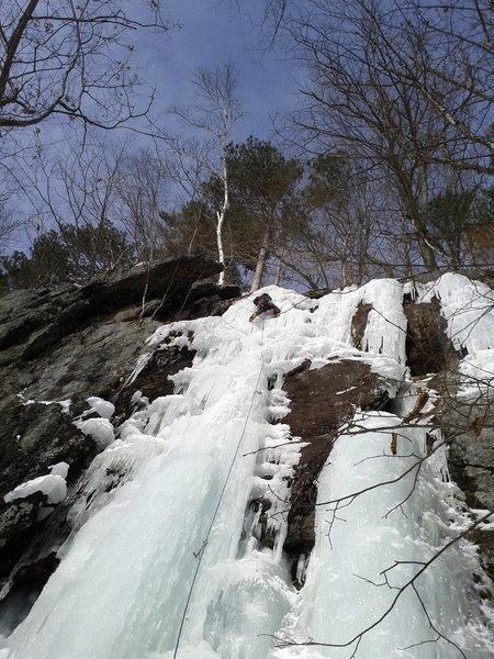 Rock Climbing Photo: Patrick Keefer cruising franky lee