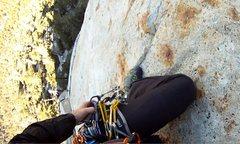 Rock Climbing Photo: Exposure on P2