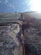 Rock Climbing Photo: sustained great climbing