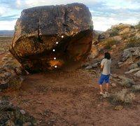 Rock Climbing Photo: route topo