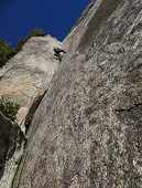 Rock Climbing Photo: old school 5.9