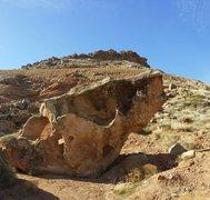 Rock Climbing Photo: The Misty Boulder