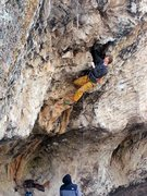 Rock Climbing Photo: Channeling my inner proctologist while digging dee...