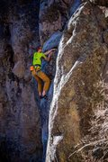 Rock Climbing Photo: Past the cruxiness and into the fun stuff. Februar...