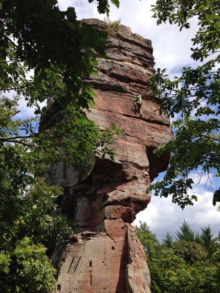 Rock Climbing Photo: Windstein, Pfalz, Germany