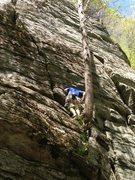 Rock Climbing Photo: Climbing at Farley in western MA