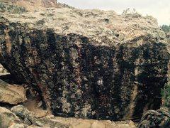 Rock Climbing Photo: North side of Dippin' Dots Block.